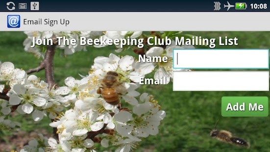 Email Sign Up- screenshot thumbnail