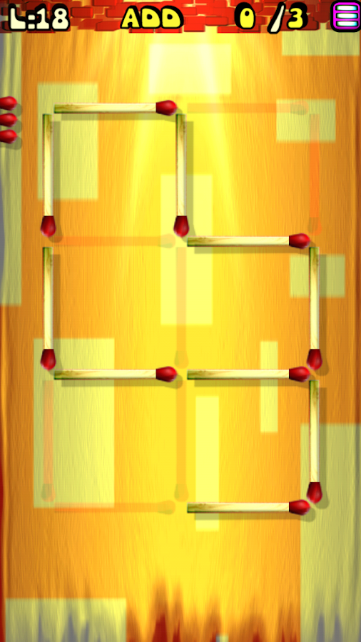Screenshots of Matches Puzzle Game for iPhone