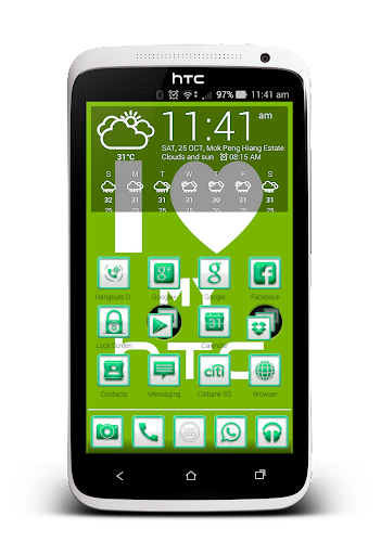 GreenCarbon Icon-Most Launcher