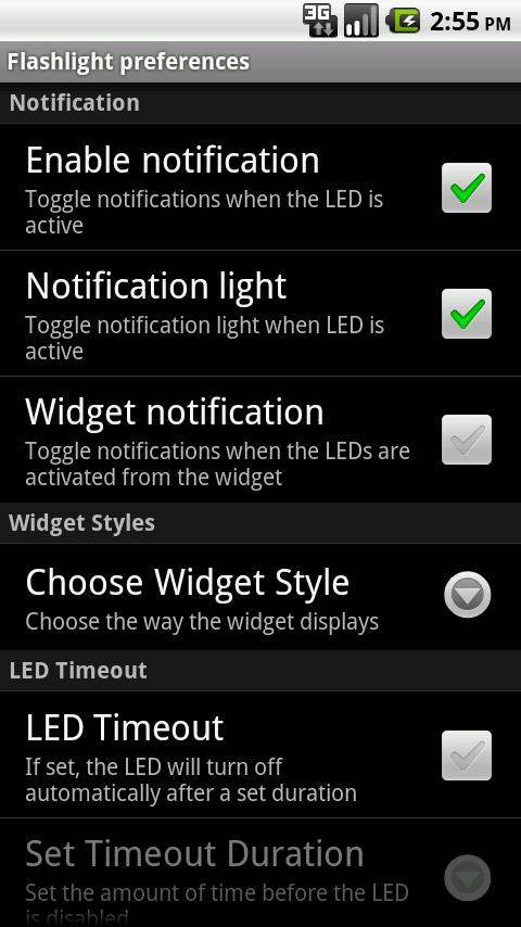 LED Flashlight (Donate) - screenshot