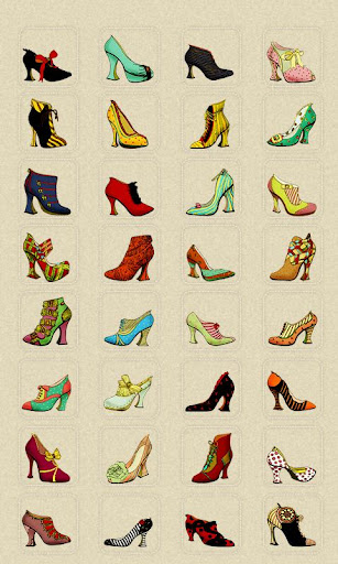 CUKI Theme Antique Shoes Icon