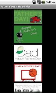 Father's Day Card Sender- screenshot thumbnail