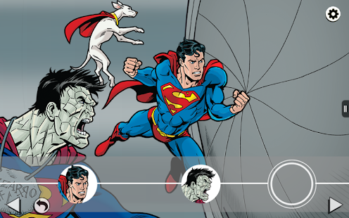 Superman and Bizarro Storybook - screenshot thumbnail