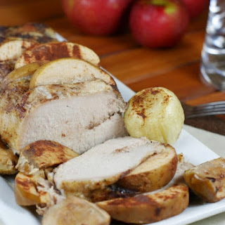 Slow Cooker Apple Pork Loin.