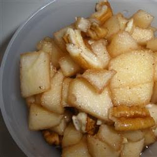 Passover Apples and Honey (Charoset).