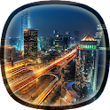 Luxury City Live Wallpaper icon