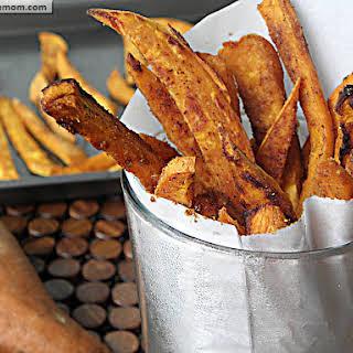 Healthy Baked Sweet Potato Fries.