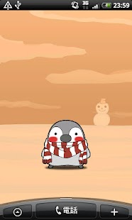 Pesoguin LWP WINTER -Penguin-- screenshot thumbnail