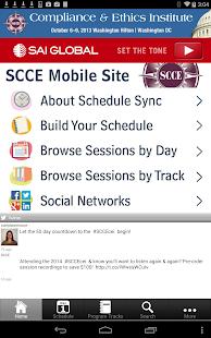 SCCE Mobile - náhled