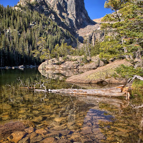 Dream Lake RMNP by Johnny Gomez - Landscapes Mountains & Hills