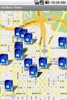 Screenshot of Mail Box Locator