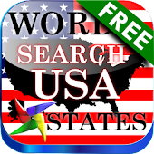 Word Search USA Free