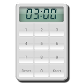 White Kitchen Timer