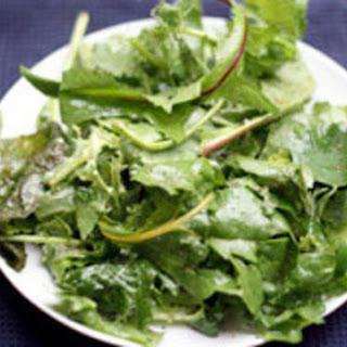 Greenmarket Field Greens with Malt Vinegar