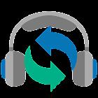 Auto Repeat Player - listening icon
