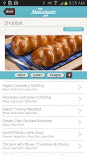 Manischewitz Recipes&Holidays - screenshot thumbnail