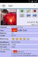 Screenshot of XLMSoft Datenbank