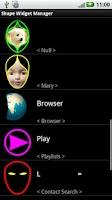 Screenshot of Shape Widget Free