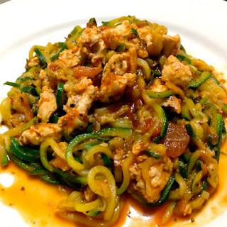 Spiralized Zucchini Spaghetti