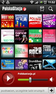 PolskaStacja Internet  Radio- screenshot thumbnail