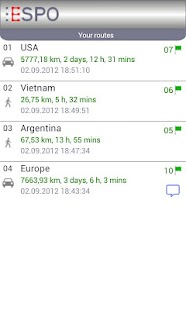 ESPO Free - Route Planner- screenshot thumbnail