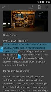 Instapaper- screenshot thumbnail