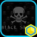 Mr.Black Skull 카카오홈 테마 icon