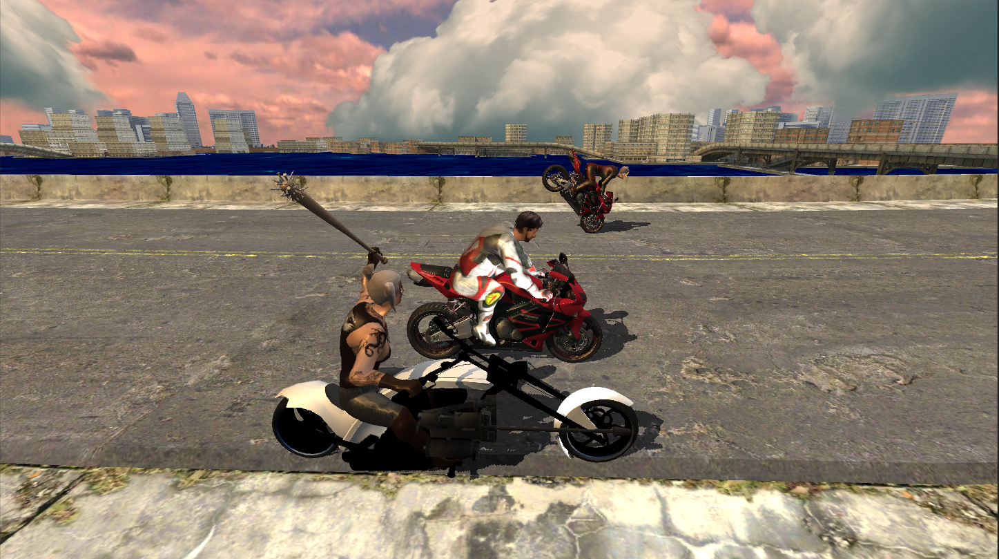 Race Stunt Fight 3! - screenshot