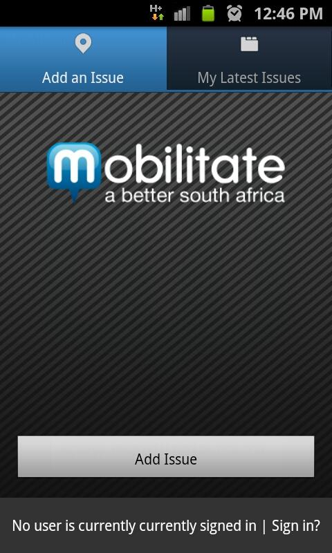 Mobilitate- screenshot