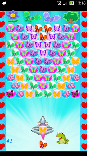 Bubble Shooter Butterfly