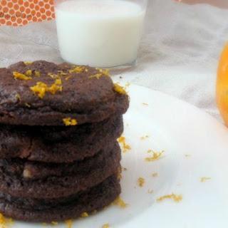 Double Chocolate Orange Cookies.