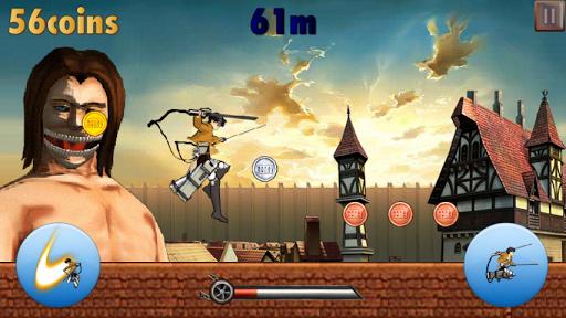進撃の酷跑:Attack on Titan