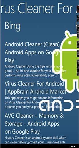 Phone Virus Cleaner App