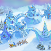 Snow Village Live Wallpaper 2.1