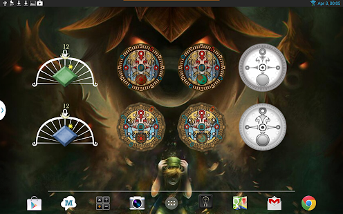 Majora's Mask Clock Widgets - screenshot thumbnail