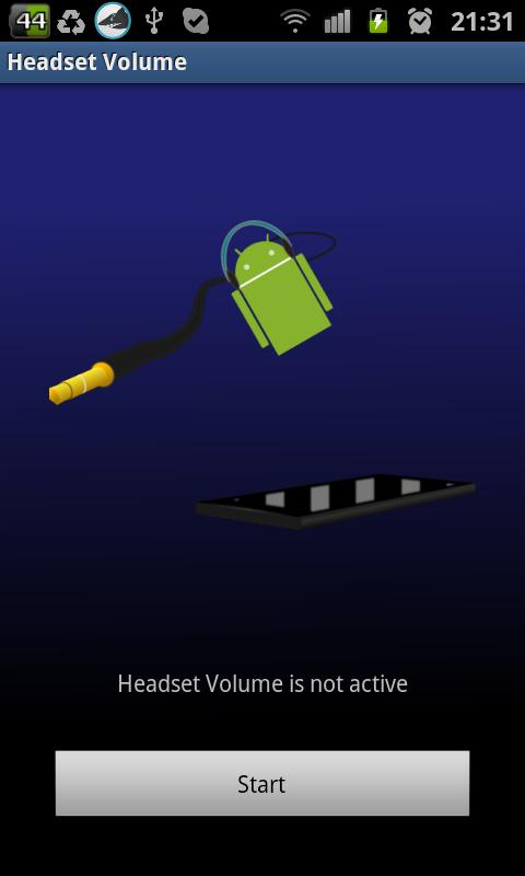 Headset Volume - screenshot