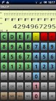 Screenshot of Programmer's calculator CALC-P