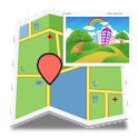 GPS Photo(位置相片分享) logo