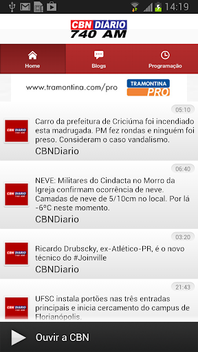 Rádio CBN Diário