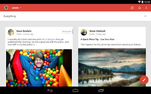 Google+ Screenshot 5