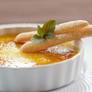 Bitter Orange Crème Brûlée