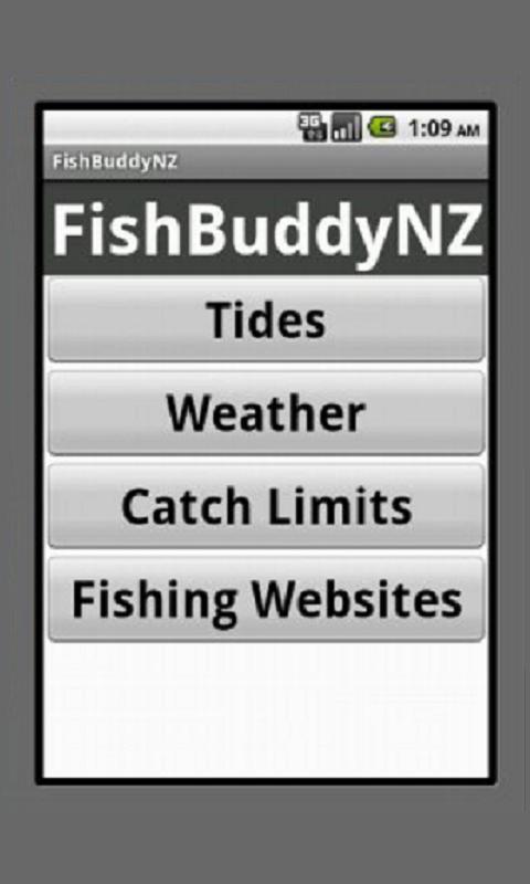 FishBuddyNZ - screenshot
