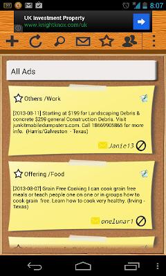 Ad2Get (classified ads) - screenshot