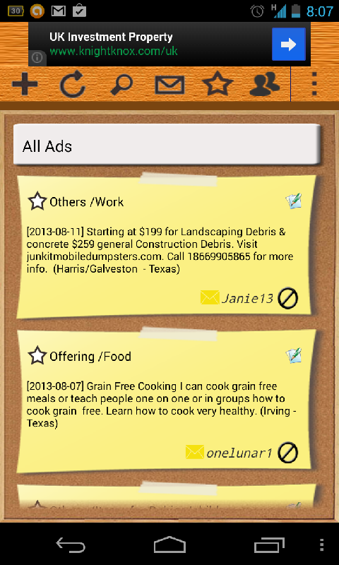 Ad2Get (classified ads)- screenshot