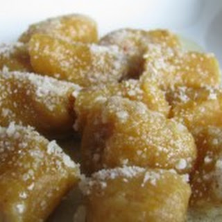 Butternut Squash Gnocchi with Brown Butter Sauce.