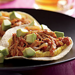 Open-Face Pork Tacos