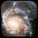 Spiral Galaxy 3D LWP icon