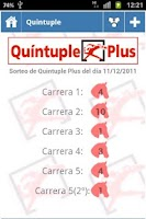 Screenshot of Resultados Loterias y Apuestas