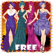 Night Girl Dress Up Game