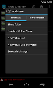 Usb Share [Root]- screenshot thumbnail